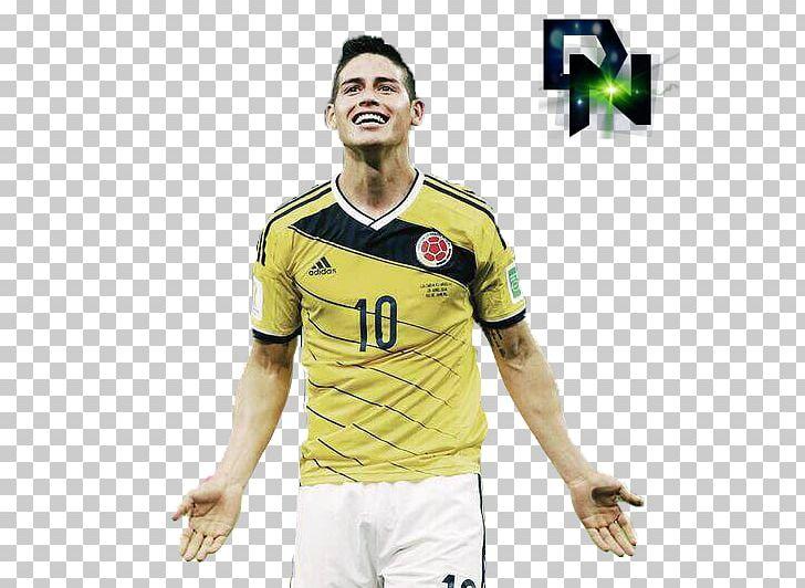 James Rodríguez 2014 FIFA World Cup Jersey T.