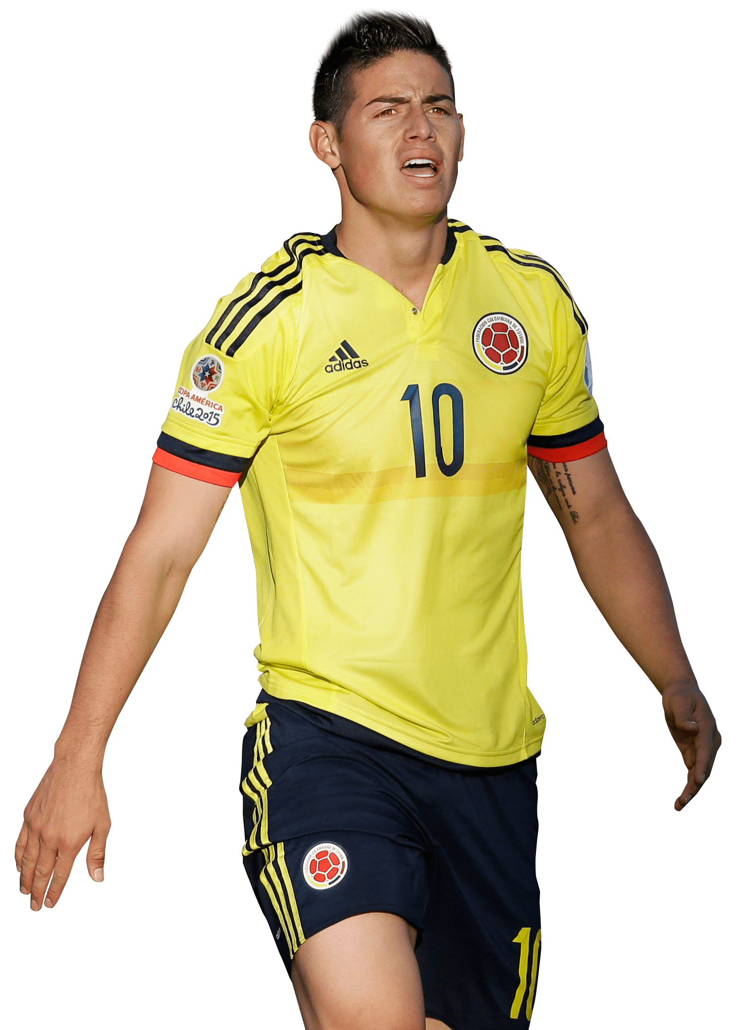 James Rodríguez Exhausted transparent PNG.
