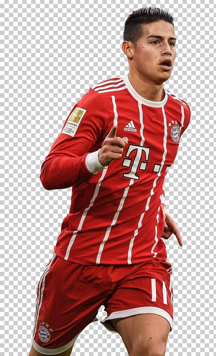 James Rodríguez FC Bayern Munich Real Madrid C.F. Bundesliga.