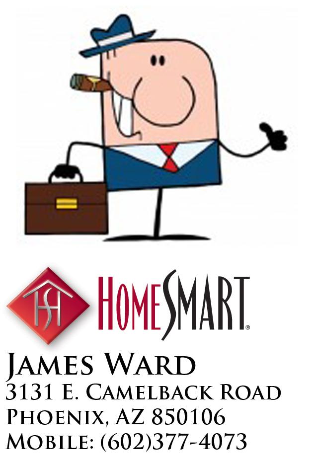 James Ward, Your Realtor for Phoenix Valley Homes.