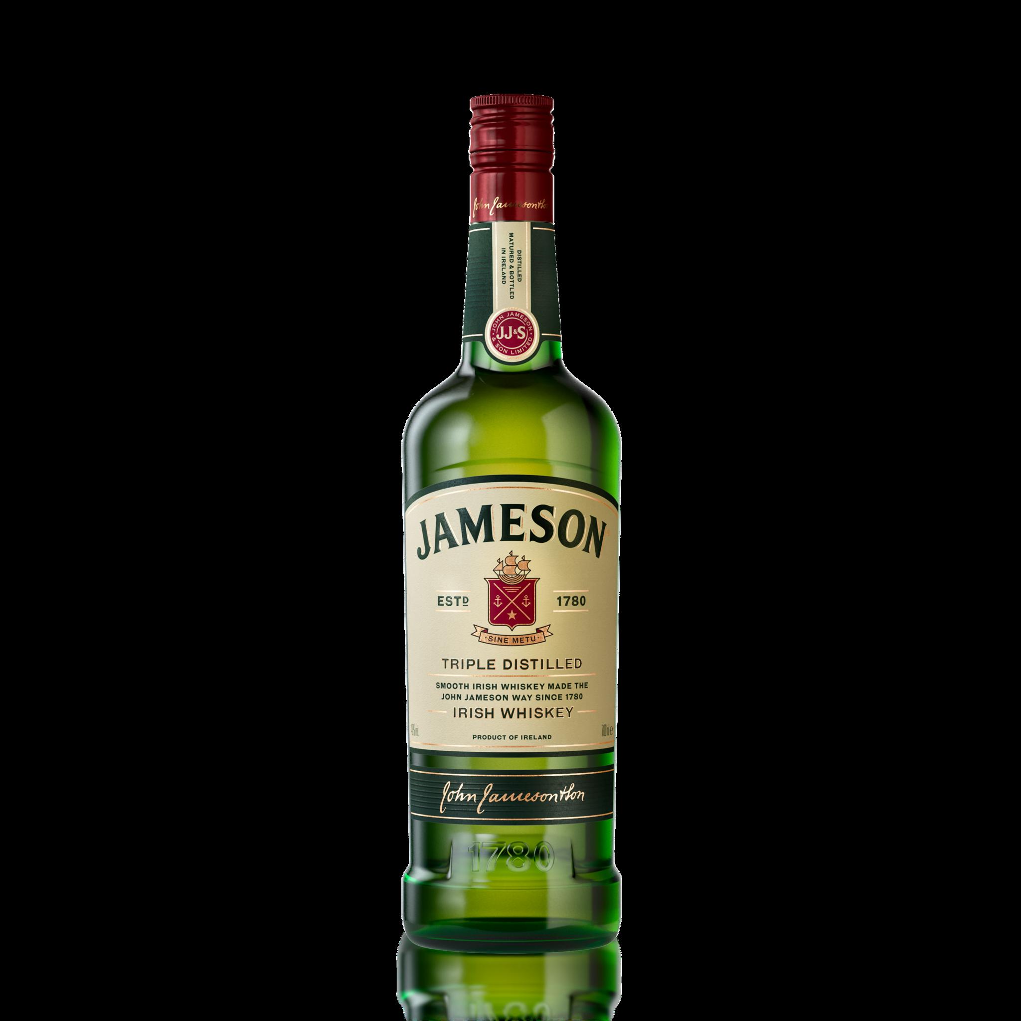 Jameson Irish Whiskey.
