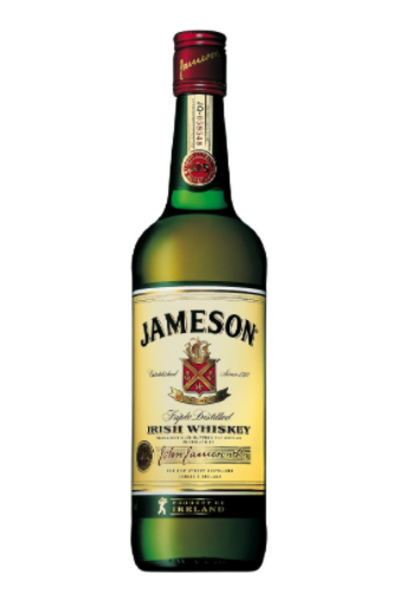 Jameson Irish Whiskey.