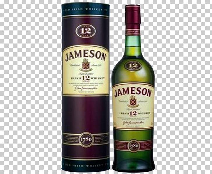 Liqueur Jameson Irish Whiskey Dessert wine, jameson PNG.