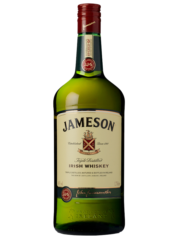 Jameson Irish Whiskey 1.75L.