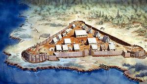 Jamestown Colony Clipart.