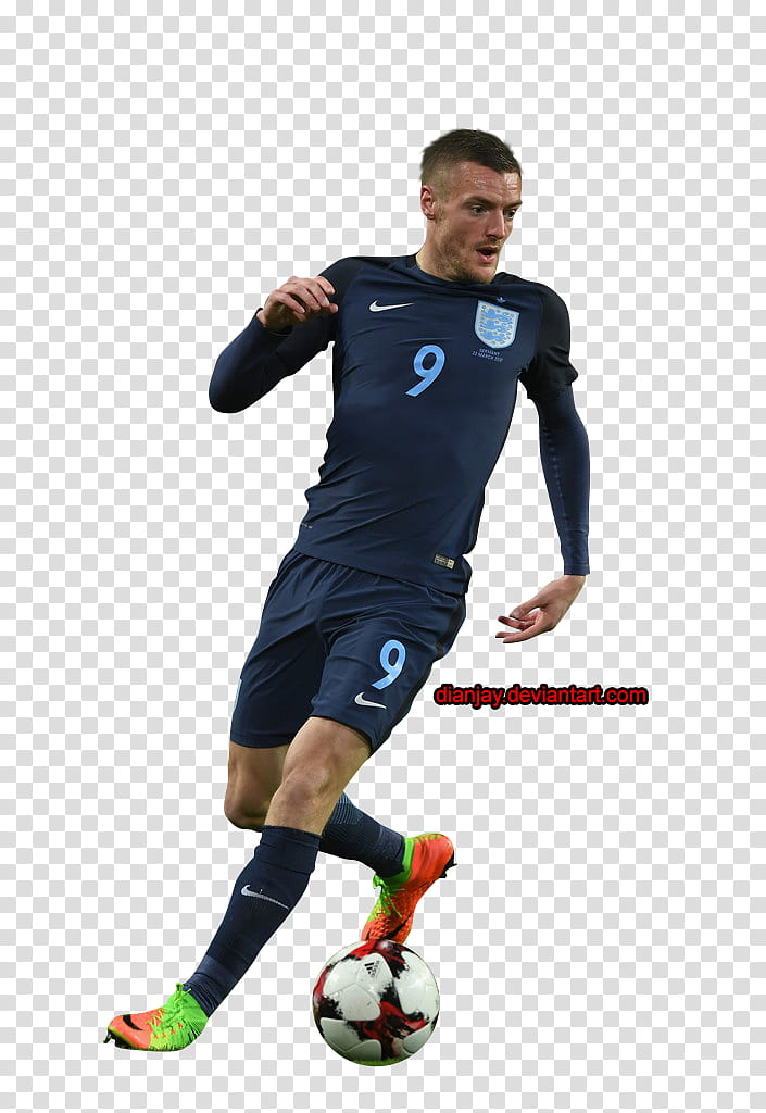 Jamie Vardy transparent background PNG clipart.