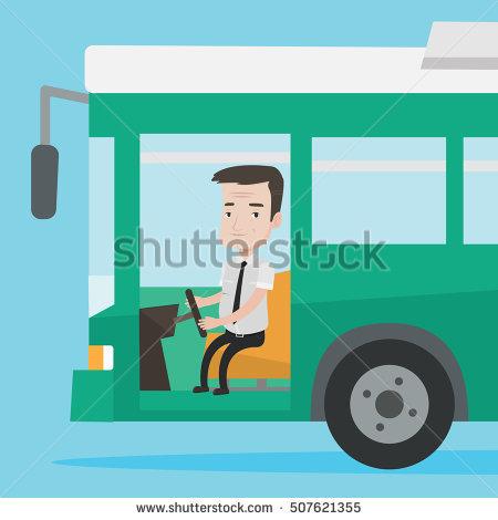 Bus Driver Stock Photos, Royalty.