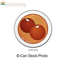Gulab jamun Vector Clipart Royalty Free. 12 Gulab jamun clip art.