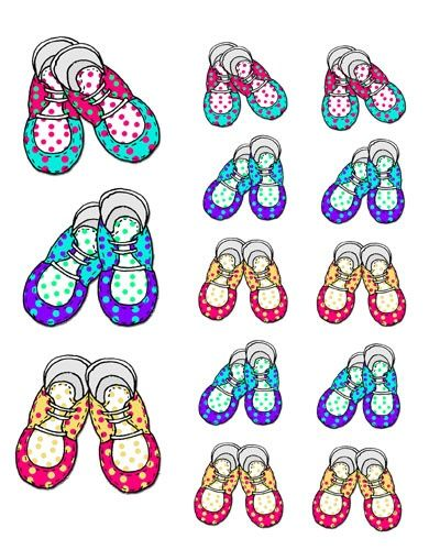 1000+ images about Shoes for babies illustrations on Pinterest.
