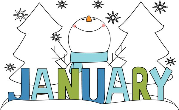 Free clipart images january.