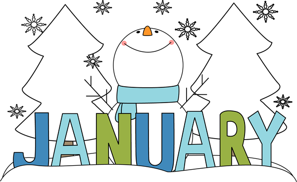 January Clip Art.