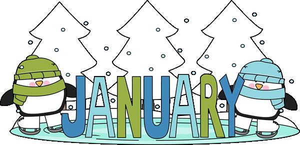 January Clip Art.