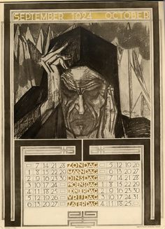 Clipart 1924 calendar.