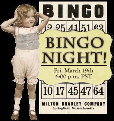 Bingo Night Clipart.