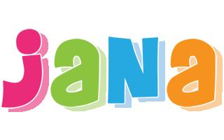 Jana Name Clip Art.