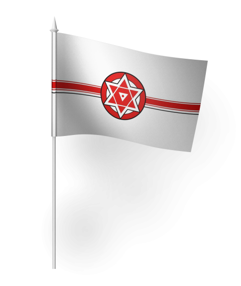 JanaSena Party Flag PNG.