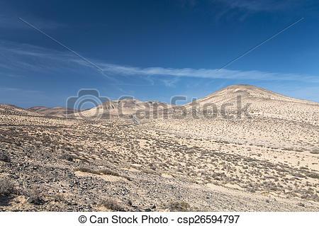 Stock Photographs of Jandia Landscape, Fuerteventura.