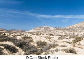 Stock Photography of Jandia beach Risco el Paso Fuerteventura at.