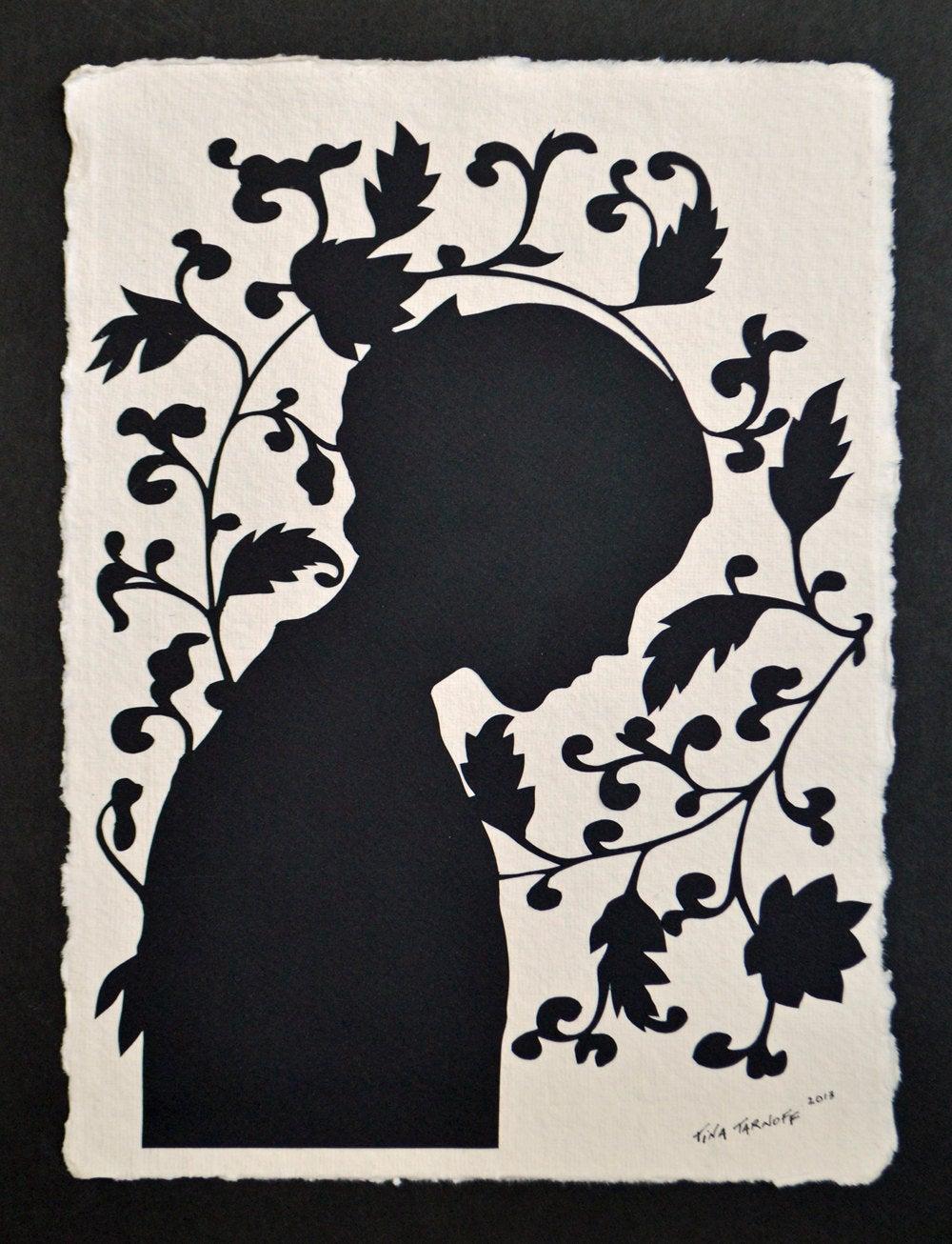 JANE EYRE Papercut.