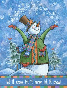 Let It Snow Clipart.