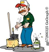 Janitor Clip Art.