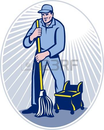 2,208 Janitor Stock Vector Illustration And Royalty Free Janitor.