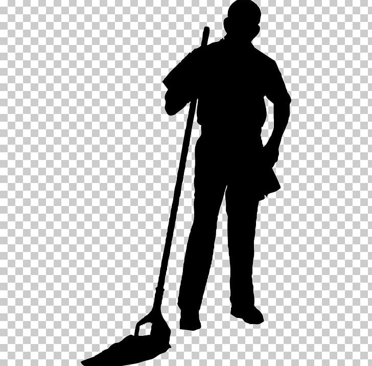 Cleaning Cleaner Janitor PNG, Clipart, Black And White.