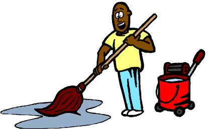 Janitorial Clip Art.