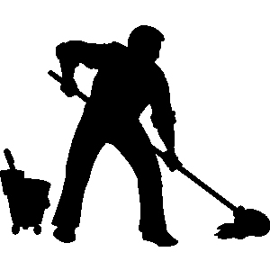 Janitorial Cleaning Clipart.