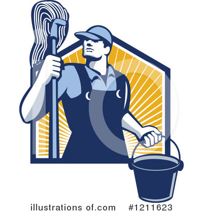 Janitorial Clipart.
