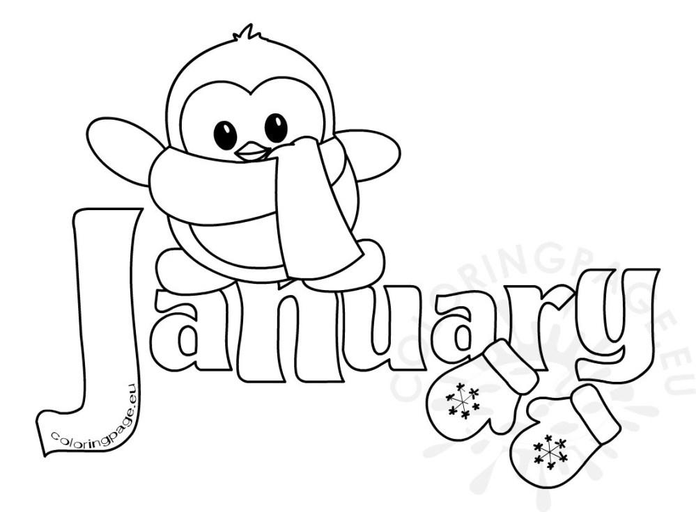 January Clipart Free.