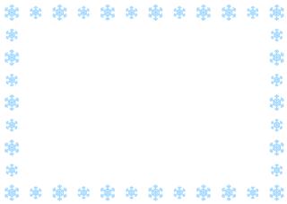 Free Snowman Border Image|Illustoon.