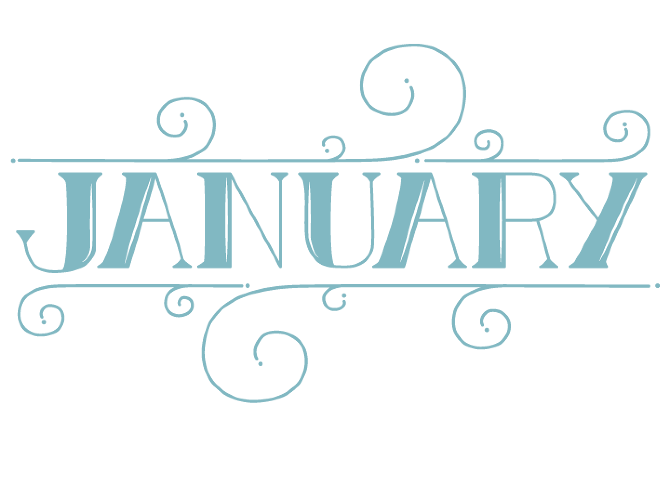 Download Free png January Transparent Background.