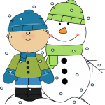 Clipart January Snow.