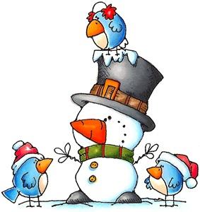 January winter clipart ideas on christmas.