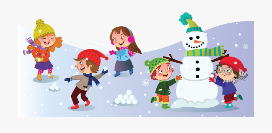 Month Of January Winter Kids Winter Clipart For Kids.