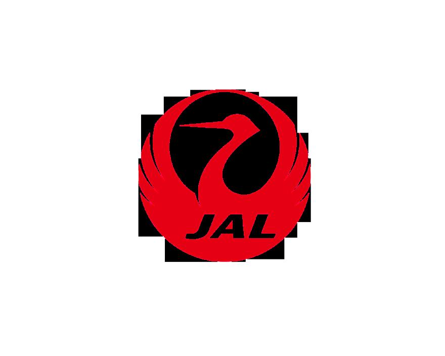 Japan Airlines logo.