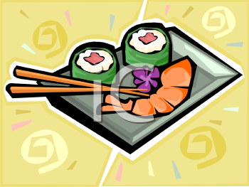 New Year Foods 中國賀年食品: Japanese Food Art.