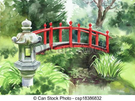 Japanese garden Clip Art and Stock Illustrations. 4,080 Japanese.