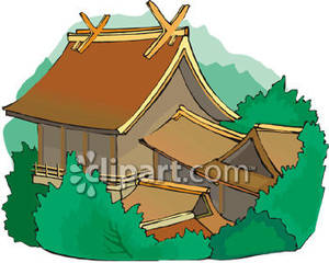 Traditional House Clipart.