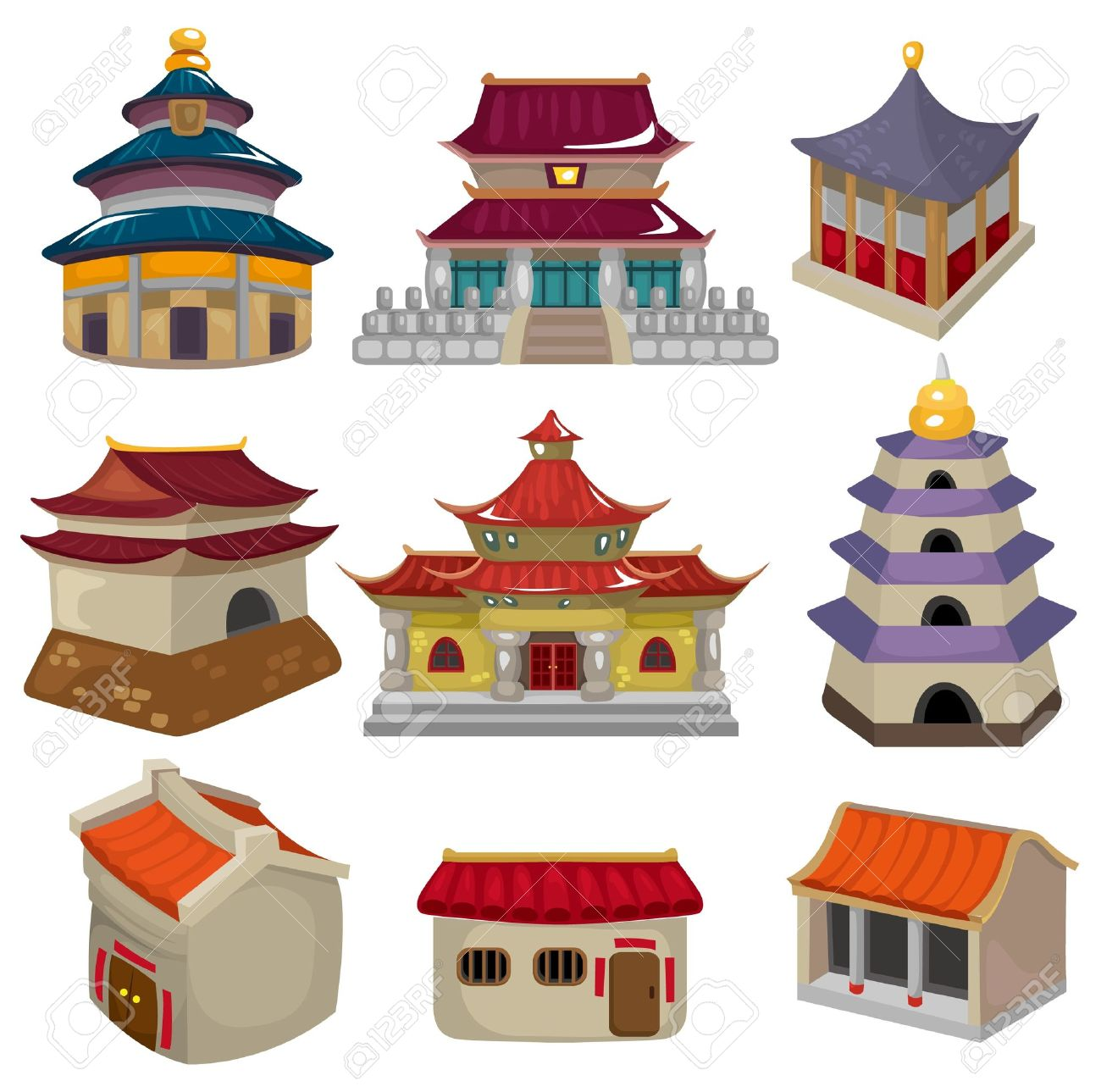 Showing post & media for Ancient japanese buildings cartoon.