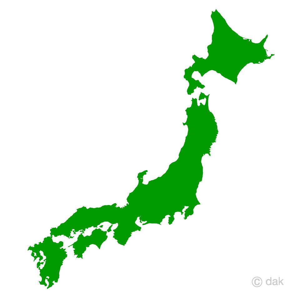 Japanese Map Free Picture|Illustoon.