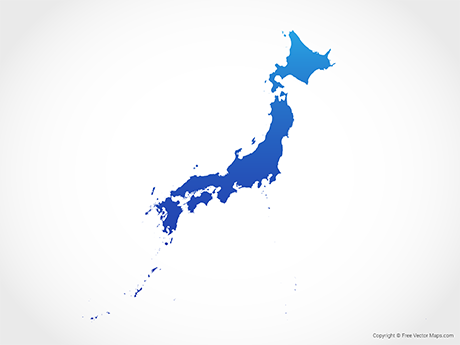 Vector Maps of Japan.