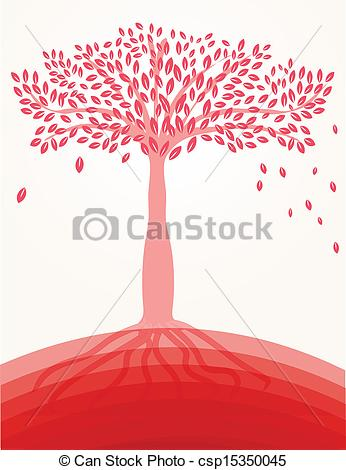 EPS Vector of Pink Japanese apricot flower csp15350045.