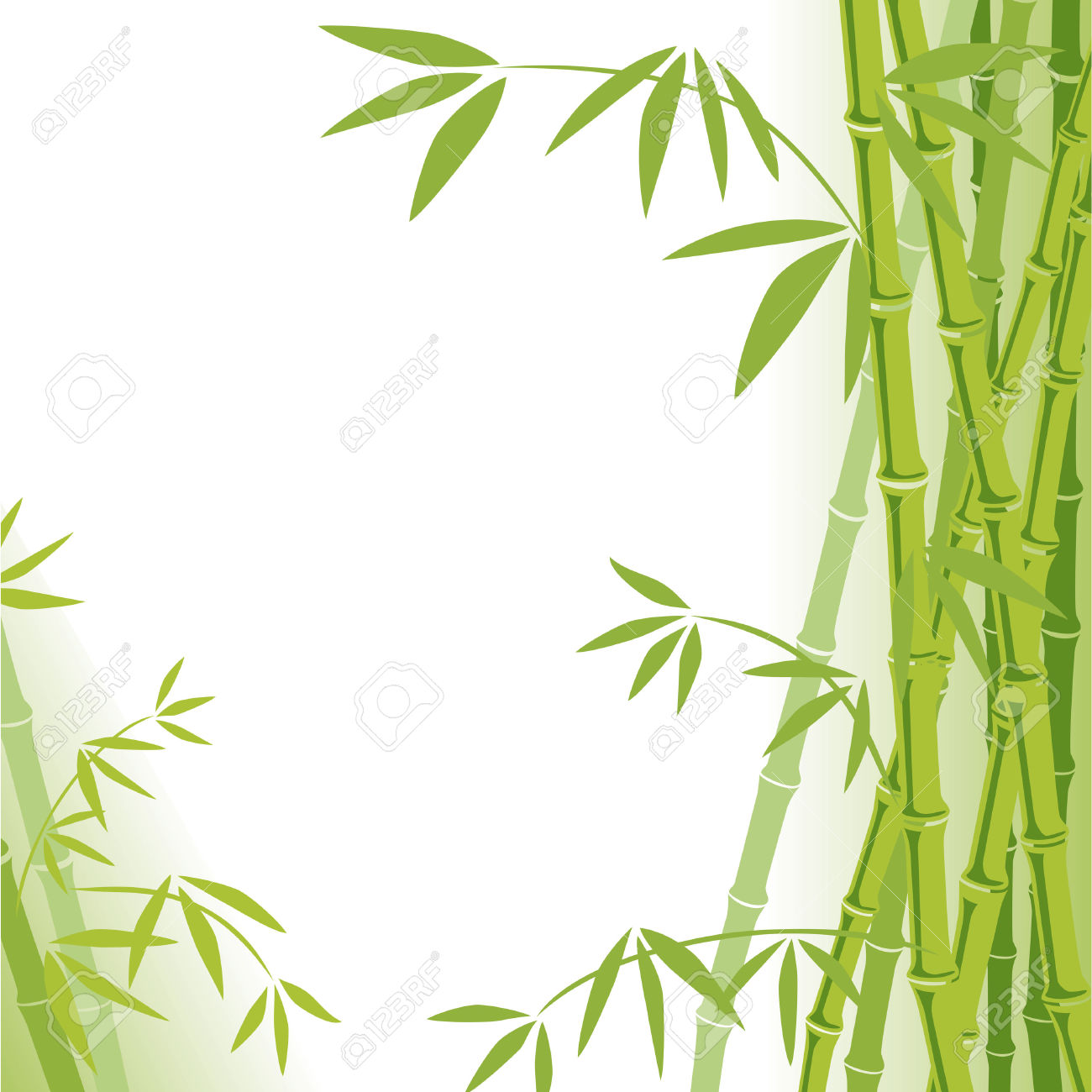 1639 Bamboo free clipart.