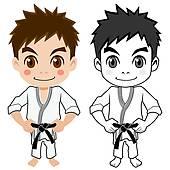 Japanese Boy Clip Art.