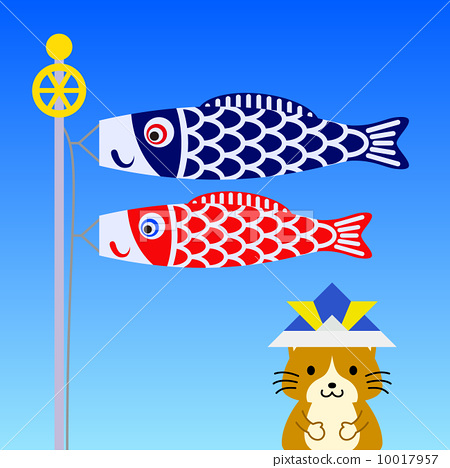 children's day, boys' day, japanese carp.