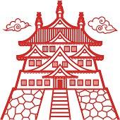 Ancient Japanese Castle Clip Art Download 936 clip arts (Page 1.