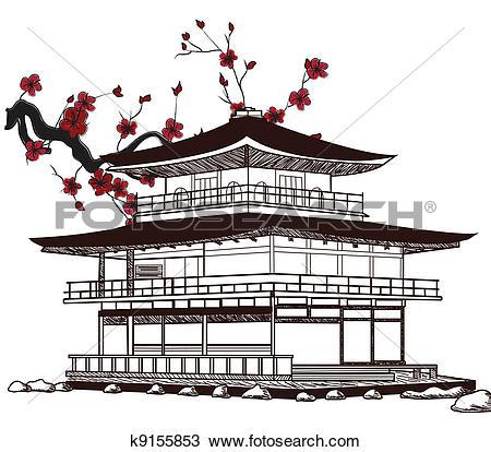 Japan castle Clipart and Illustration. 284 japan castle clip art.