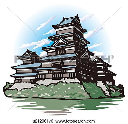 Japanese castle Illustrations and Clip Art. 36 japanese castle.